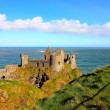 Dunluce Castle, Ireland - Stock Photo