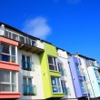 Stock Photo: Pretty colourful building, Ireland