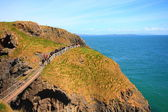 Carrick -A-Rede and Larrybane — Stock Photo