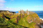 Castillo de dunluce, irlanda del norte — Foto de Stock