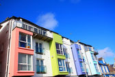 漂亮色彩缤纷的大厦爱尔兰 — 图库照片