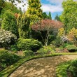 Beautiful spring garden — Stock Photo #26146613