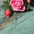 Stock Photo: Romantic vintage roses background