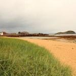 The beach at North Berwick, East Lothian — Stock Photo