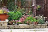 Piedra del jardín jardinería — Foto de Stock