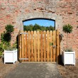 Wooden gate — Stock Photo #33278377