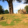 Moot or Boot Hill on the grounds of Scone Castle, Scotland — Stock Photo