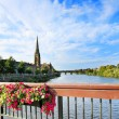 The River Tay, Perth Scotland — Stock Photo