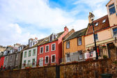 Old houses in Queensferry near Edinburgh, Scotland — Stock Photo