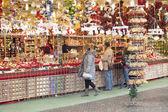 Christmas shop — Stock Photo