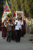 Tibetan pacific manifestation — Stock Photo