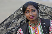 Indian girl portrait — Stock Photo