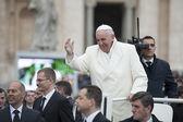 Pope Francis — Стоковое фото