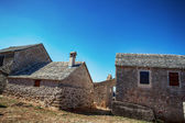 Old stone rustic house — Stock Photo