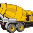 Concrete mixer — Stock Vector #38245329