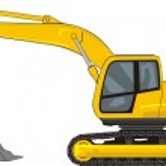 Excavator — Stock Vector #38245341