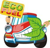 Eco fuel — Vetorial Stock