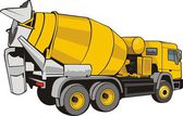 Concrete mixer — Stock Vector