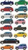 Cars set — Stock Vector