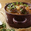 Traditional french beef goulash - Boeuf bourguignon - Lizenzfreies Foto