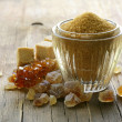 Assorted brown sugar - sand, crystal and refined — Stock Photo #24765659
