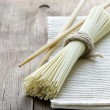 Stock Photo: Asistill life noodles - simple wholesome food