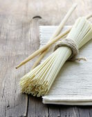 Asian still life noodles - simple wholesome food — Stock Photo