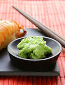 Wasabi mustard sauce for Japanese food — Stockfoto