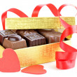 Delicious gourmet chocolate candy sweet present — Stock Photo #32465723