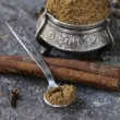 Indian mix of ground spices — Stock Photo