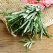 Organic bunch of fresh rosemary — Stock Photo