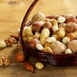 Assortment of different nuts  — Stock Photo
