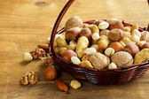 Assortment of different nuts — Photo