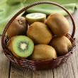 Tropical fruit fresh sweet ripe kiwi — Stock Photo #36788637