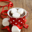 Stock Photo: Hot cocowith marshmallows