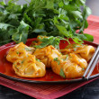 Chinese dumplings - dim sum — Stock Photo