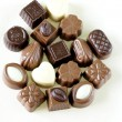 Delicious gourmet chocolate candy sweet present — Stock Photo #39650829
