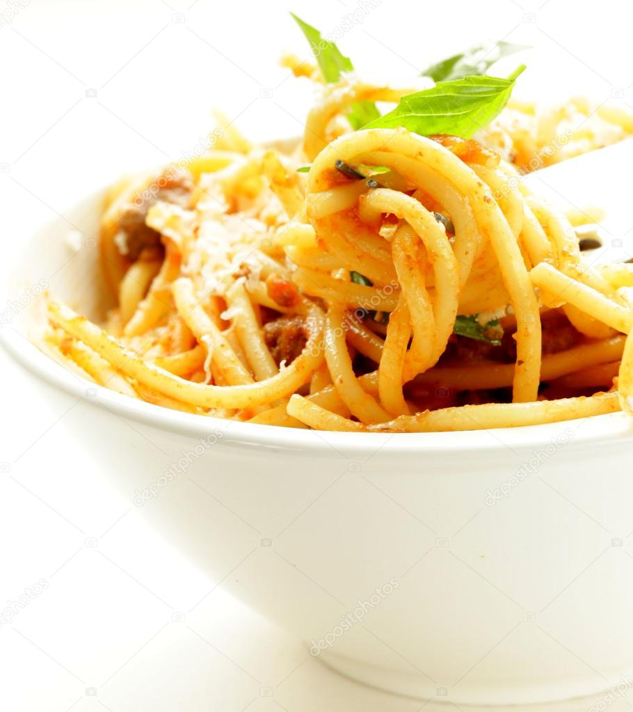 """""""Spaghetti"""" With Tomato Sauce And Parmesan Cheese Recipes ..."""