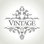 Cadre vintage vector — Photo