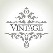 Vector vintage frame — Stock Photo