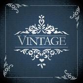 Vector vintage frame — Stock Photo