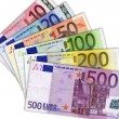 billets en euros — Photo