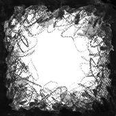 Fond grunge noir et blanc — Vecteur