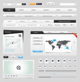 Web Elements — Vector de stock