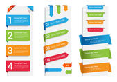 Etiquetas, tags e adesivos coloridos web — Vetorial Stock