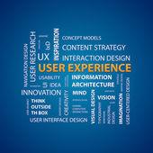 UX Design — Stock Vector