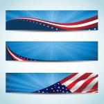 American Banner — Stock Vector #18413639