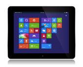 Windows Apps Tablet — Stok Vektör