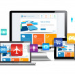 Responsive Design Apps — Stockvector #31195867