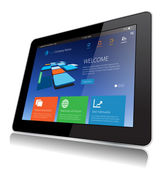 Tablet Tecnologia — Vettoriale Stock